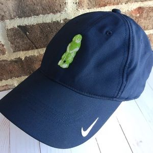 Nike Golf Baseball Cap with Embroidered Chimp
